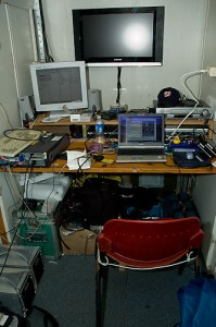 Video Editing Room on Esperanza