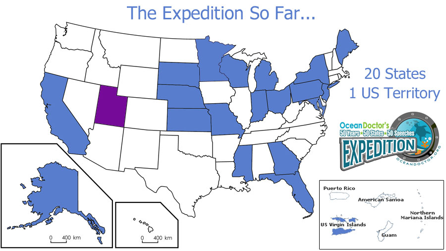 50 Years - 50 States - 50 Speeches Expedition - UTAH