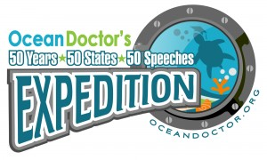 Ocean Doctor's 50 Years - 50 States - 50 Speeches Expedition