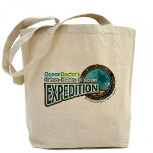 Plastic bag? No way! Use your Ocean Doctor tote!