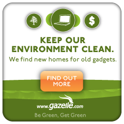 This Week's Guest: Kristina Kennedy of Gazelle tells us how to recycle our electronics -- and get paid to do it!