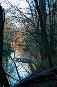 The Licking River winds through Blackhand Gorge State Nature Preserve, Licking County, Ohio; keeping its waters clean help this community and communities downstream, all the way to the Gulf of Mexico