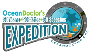 "Ocean Doctor's ""50 Years - 50 States - 50 Speeches"" Expedition"