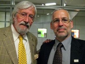 Jean-Michel Cousteau and David E. Guggenheim (Photo: Holly Lohuis)