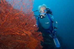 Jean- Michel Cousteau (Photo: ? Carrie Vonderhaar, Ocean Futures Society)