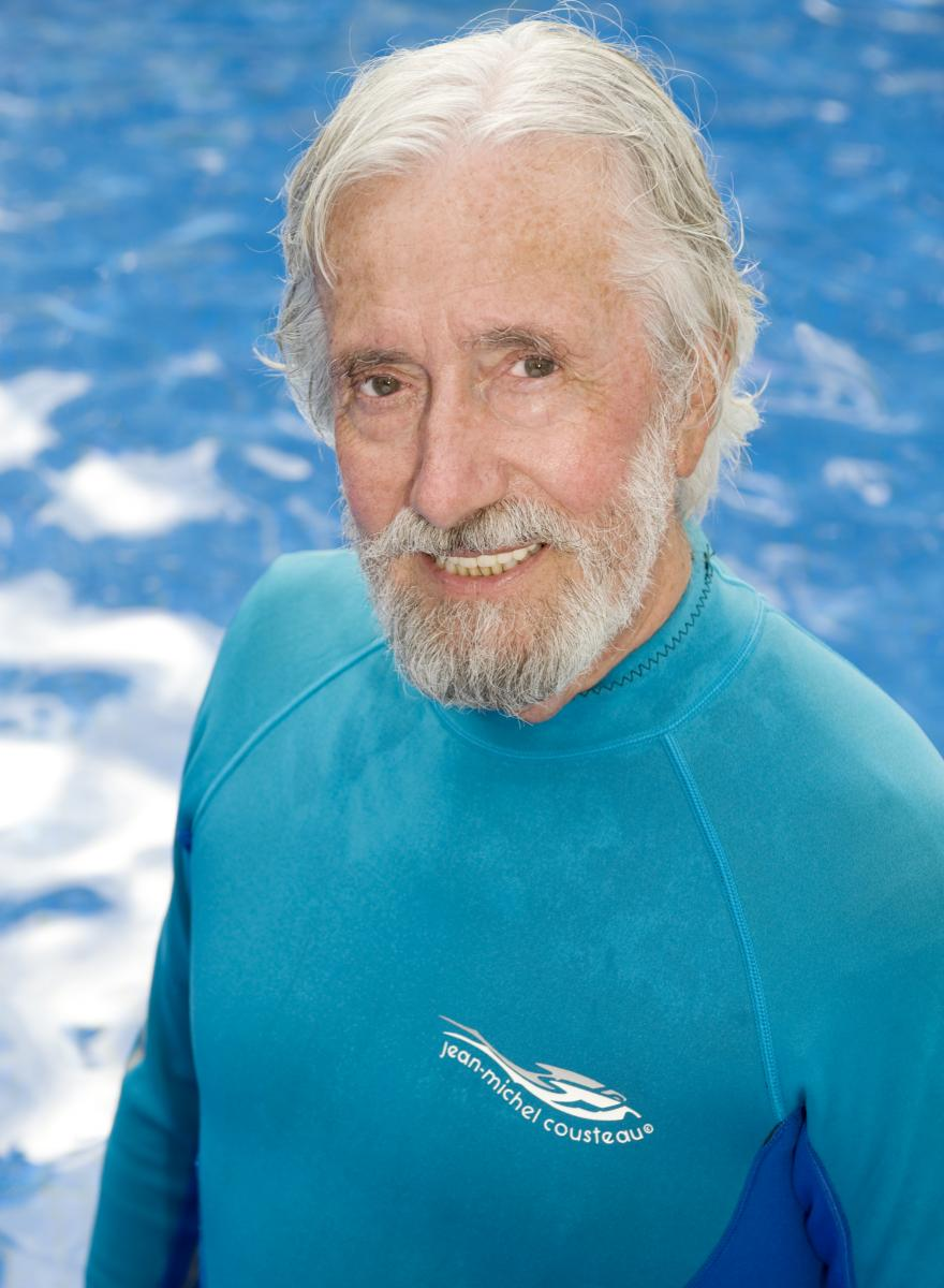 This Week's Guest: Jean- Michel Cousteau (Photo: ? Carrie Vonderhaar, Ocean Futures Society)
