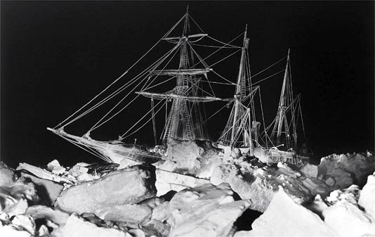 "Shackleton's ""Endurance,"" Trapped in the Antarctic Ice"