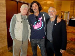 Ric O'Barry, Lincoln O'Barry and David E. Guggenheim