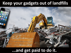 Keep Your Gadgets out of Landfills