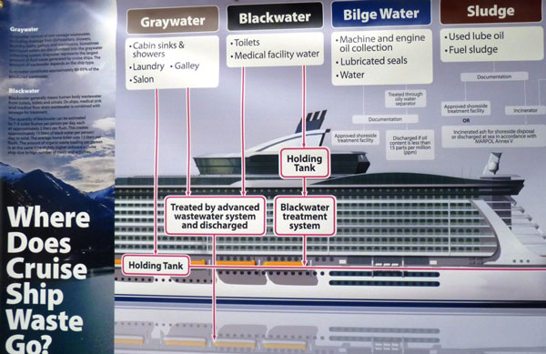 Action Alert Protect Alaskas Waters From Cruise Ship Dumping - Cruise ship sewage
