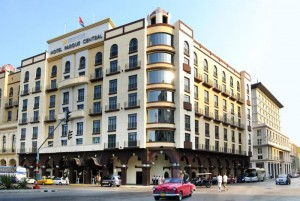 Hotel Parque Central in the heart of Old Havana