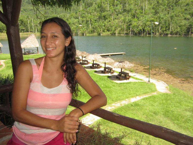 Ocean Doctor Expedition Leader, Maribel Guevara, in Las Terrazas, Cuba