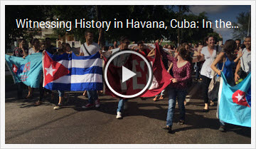 Video: Havana - Announcements December 17, 2014
