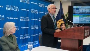 Dr. Guggenheim addresses The National Press Club