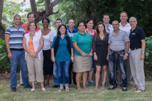Participants of the first international environmental economics workshop in Cuba, September 2014