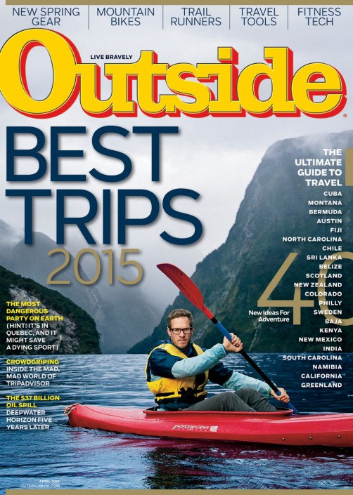 Outside Magazine Cover 2015