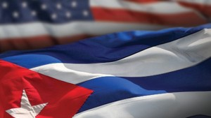 Flags of Cuba, USA