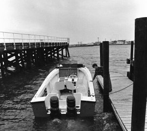 Alan Guggenheim and our 23' Seacraft in 1976