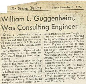 The Philadelphia Evening Bulleting 12/03/1976