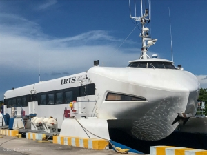 A high-speed ferry connects the Isle of Youth to the main Cuban island