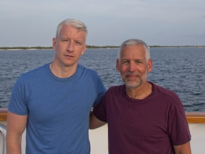 Anderson Cooper and David E Guggenheim