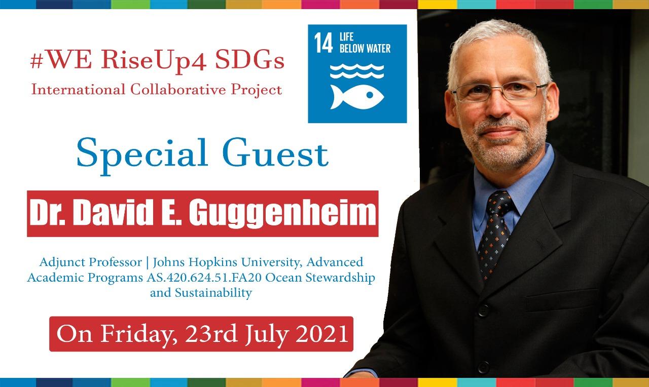 Ocean Doctor David Guggenheim Speaker India